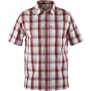 FjallRaven Gunnar Shirt Deep Red-20