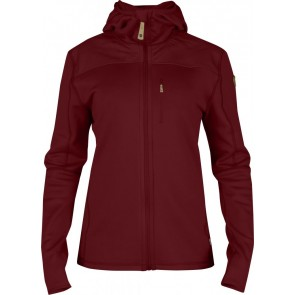 FjallRaven Keb Fleece Jacket W. Ox Red-20
