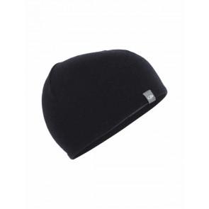 Icebreaker Adult Pocket Hat Black/Gritstone HTHR-20