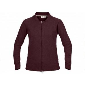 FjallRaven Övik Re-Wool Zip Jacket W Dark Garnet-20