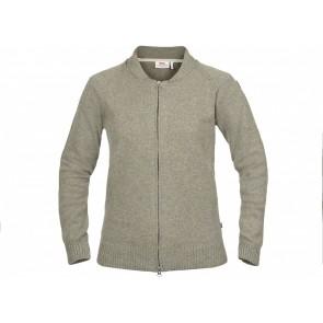 FjallRaven Övik Re-Wool Zip Jacket W Frost Green-20