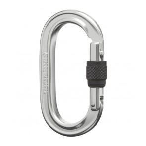 Black Diamond Oval Locker Carabiner Polished-20