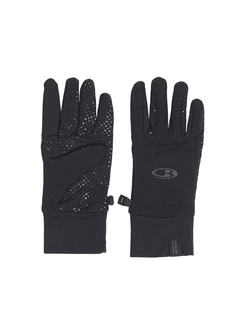 Icebreaker Adult Sierra Gloves - Black/Black - Handschuhe XL