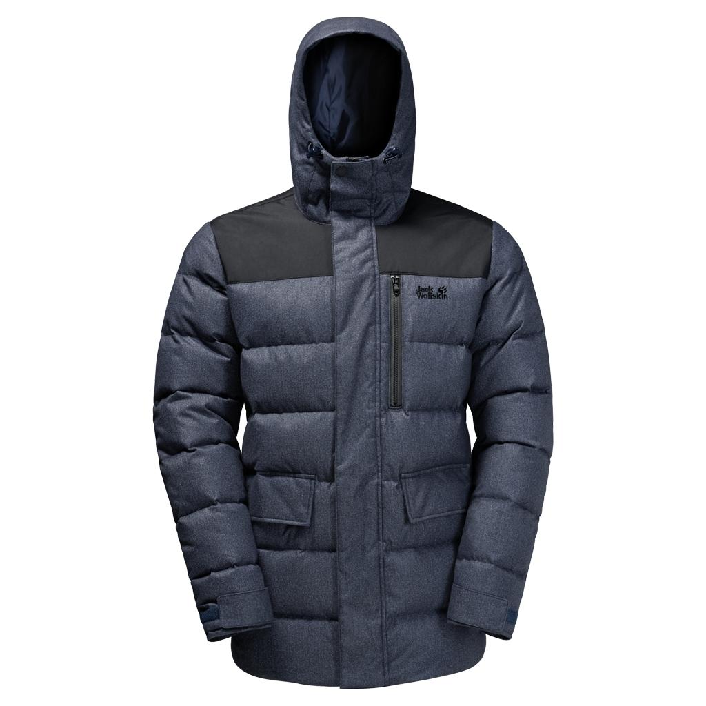 Jack Wolfskin Men's Baffin Bay Jacket Night Blue X large for