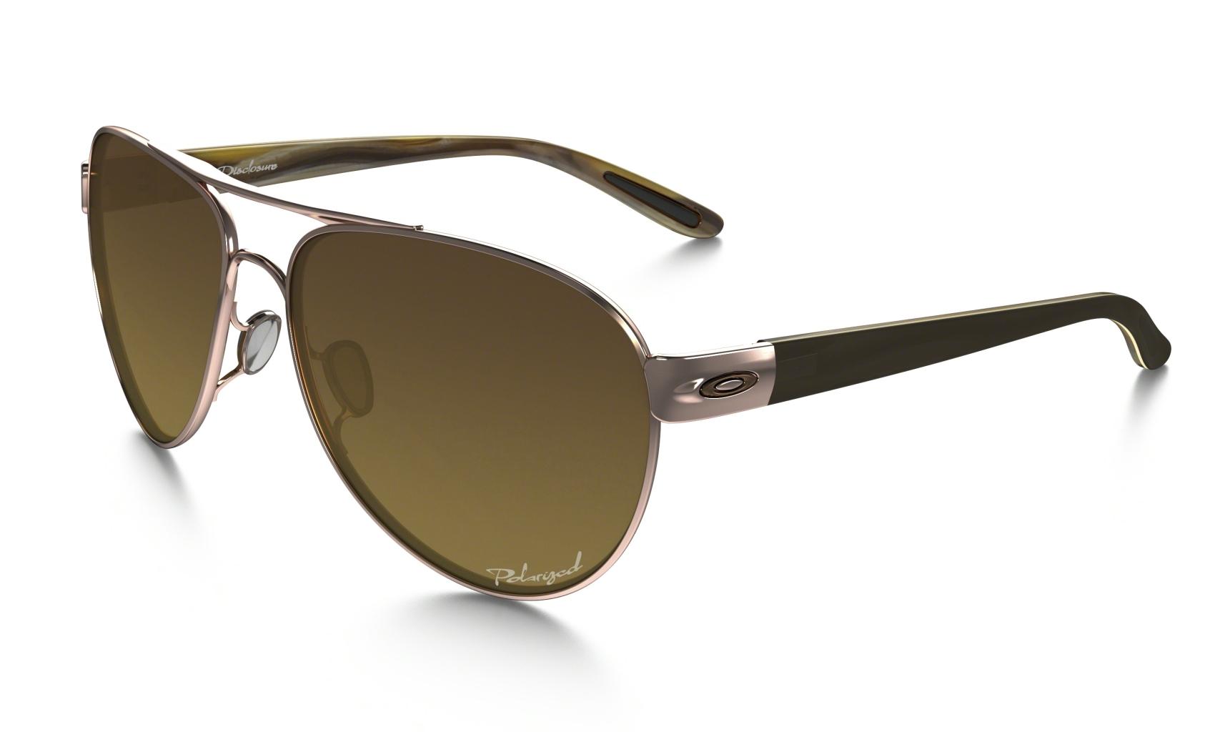 e052215545 Oakley Disclosure Rose Gold w Brown Grad Polar - en