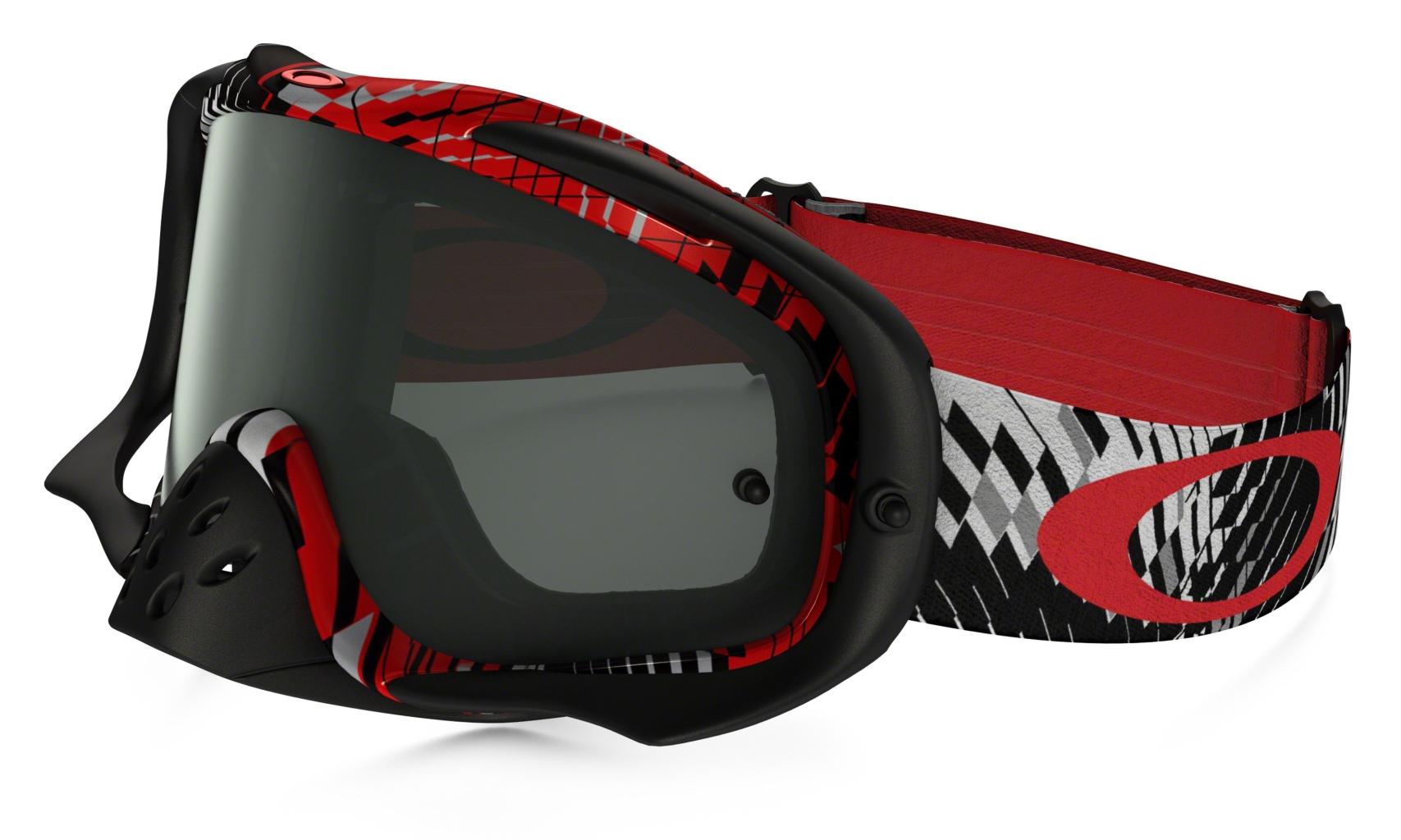 386c386d56 Oakley Crowbar Mx Frame  PODIUM CHECK RED BLACK Lens  DARK GREY - au