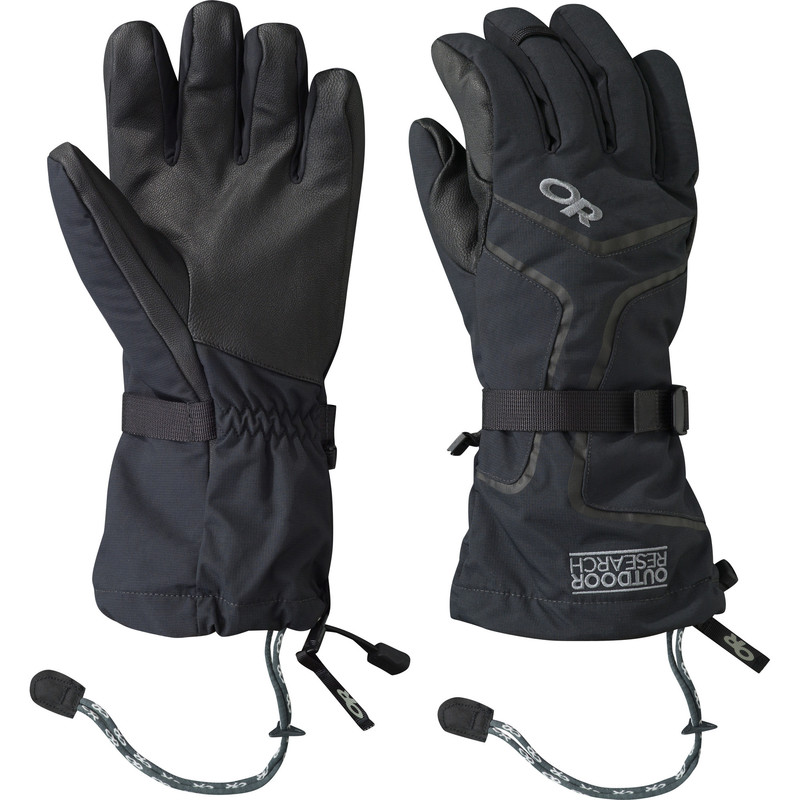 Outdoor Research Men´s Highcamp Gloves - 001-BLACK - Handschuhe L