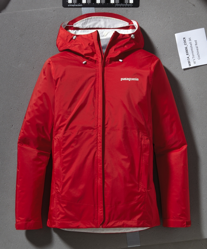 patagonia torrentshell red